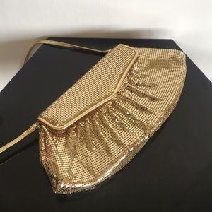 GOLD & GLAM VTG Whiting & Davis Crossbody Purse